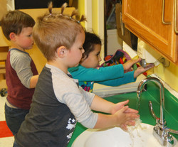 Hand washing for all cooks!