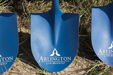 groundbreaking at The Arlington