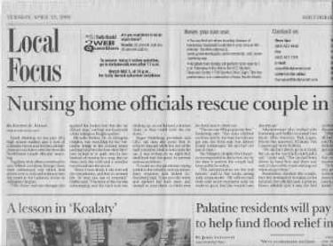 articles in the Daily Herald