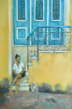 Trini en Cuba