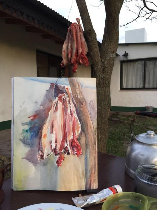 Carne, 2017.