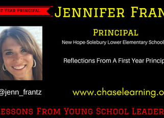 Reflections from a First Year Principal