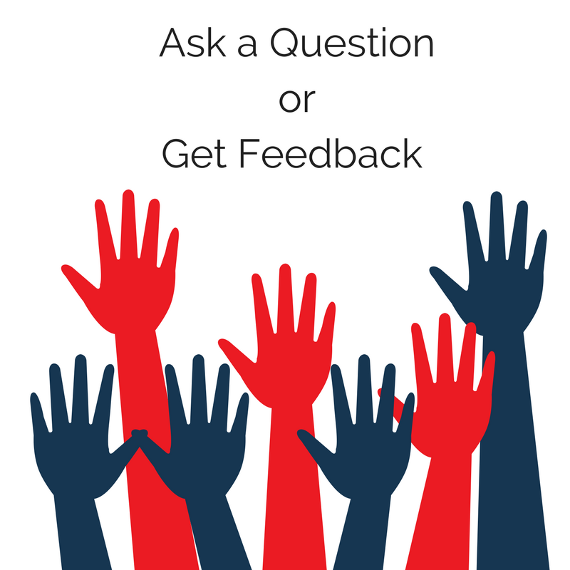 Ask a Question or Get Feedback A Chase Lear