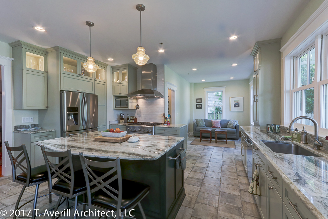 170801 Kitchen - Burnside Street Residence, Annapolis MD - T. Averill Architect 008