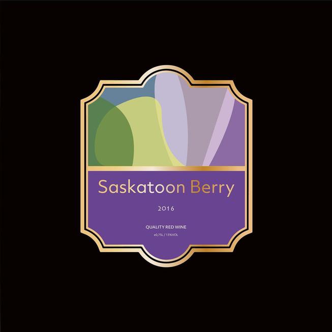 Saskatoon Berry Wine