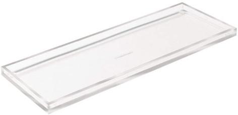 Acrylic Narrow Accessory Tray