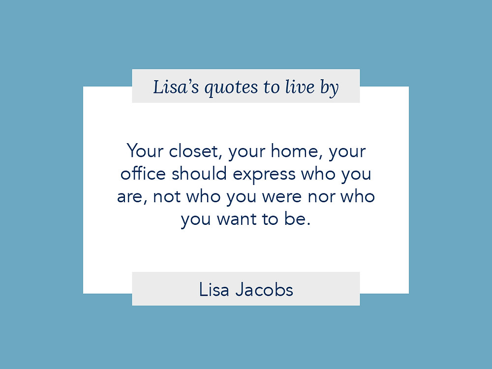 lisa jacobs quote on organization