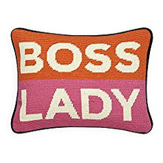 Jonathan Adler Boss Lady pillow