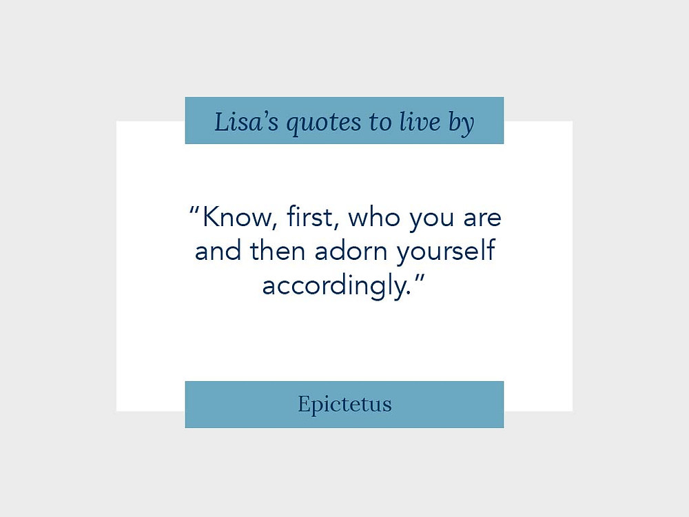 Know who you are quote by Epictetus