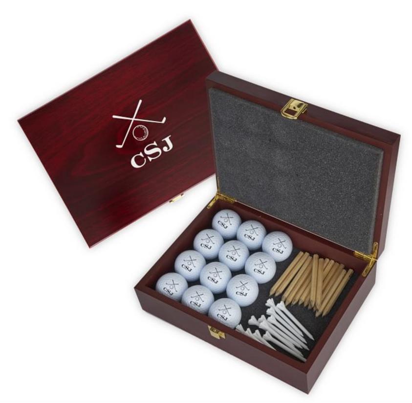 Personalized Golf Ball Gift Set