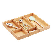 Stackable Bamboo Organizers