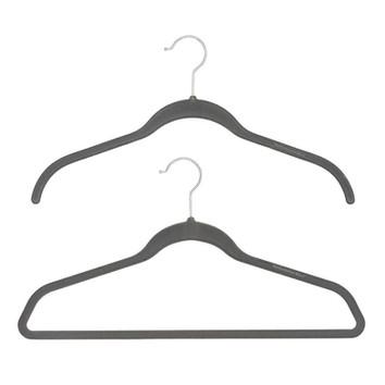 Slate Non-Slip Velvet Hanger