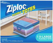 XL Flexible Ziploc Tote