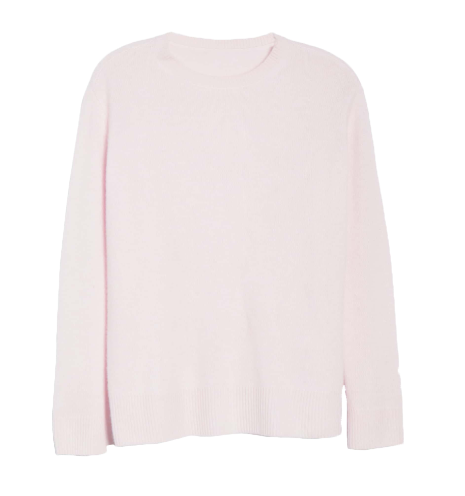 Something Navy Cashmere Set Sweater
