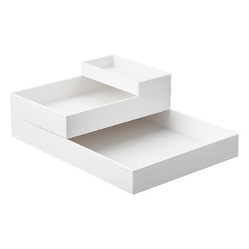 White Accesory Trays
