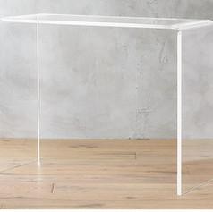 Acrylic Console Table