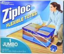 Jumbo Ziploc Flexible Totes