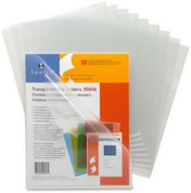 Sparco Transparent File Holder