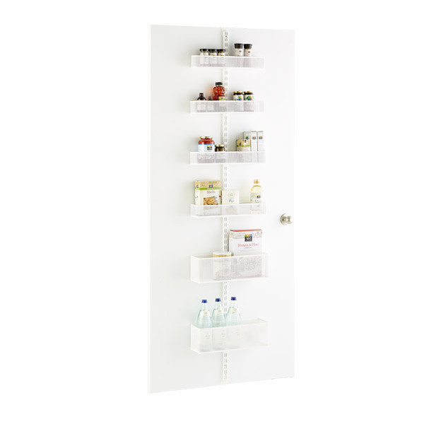 Elfa Wall Storage System Closet door organizer
