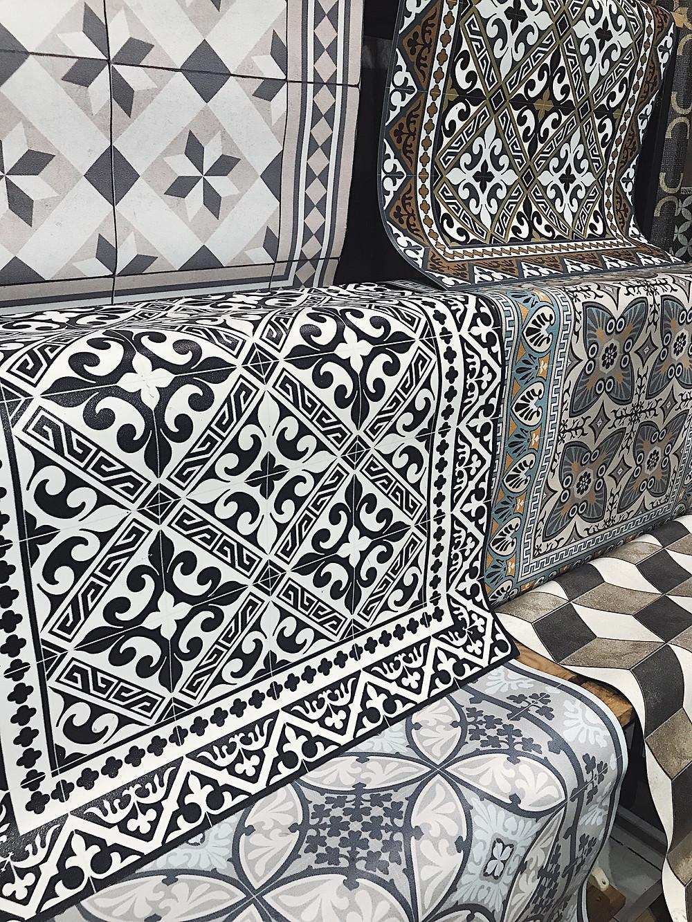 Bejia Fior handmade floor tiles and rugs