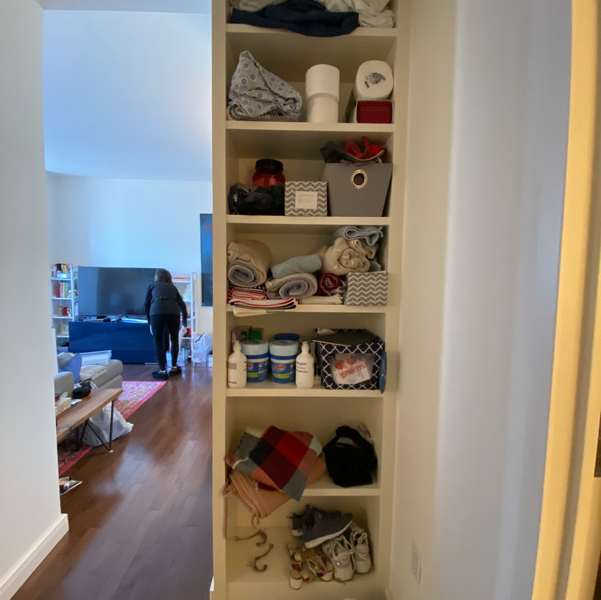 Before home reorganization