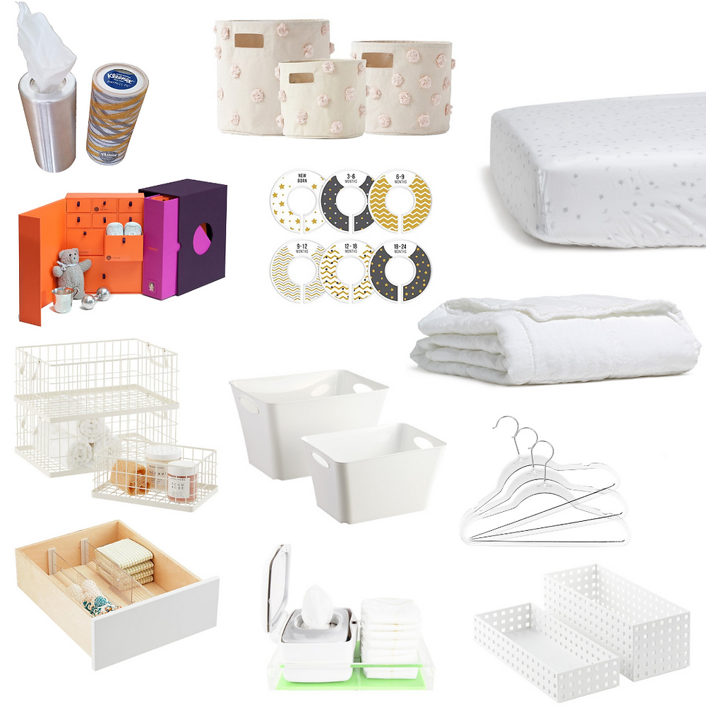 Nursery essentials to keep organized