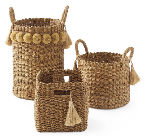 Serena and Lily Storage Baskets