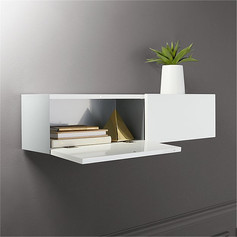 Floating Storage Shelf