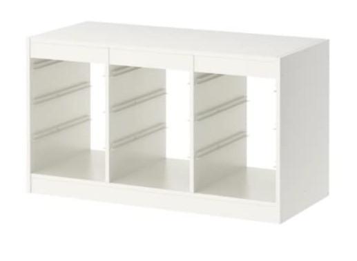 Ikea storage shelf for playroom