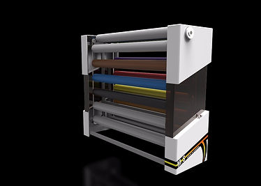 Active Storage Device for Rolled Media Products.