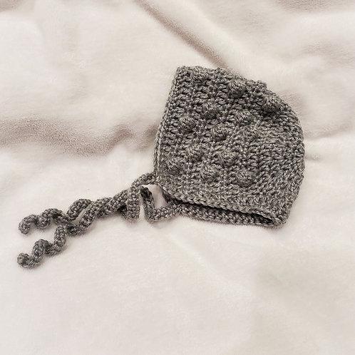 Crochet Bobble Bonnet
