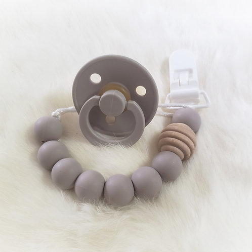 Beehive Pacifier Clip