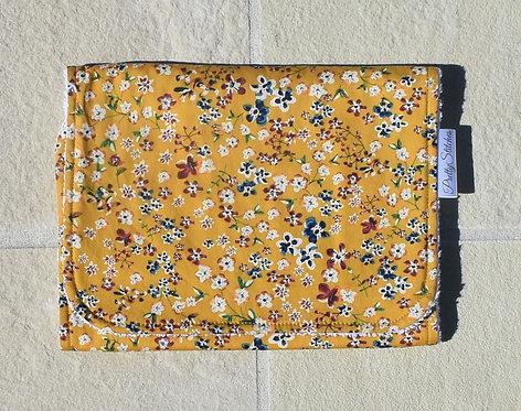 Vintage Mustard - Burp Cloth
