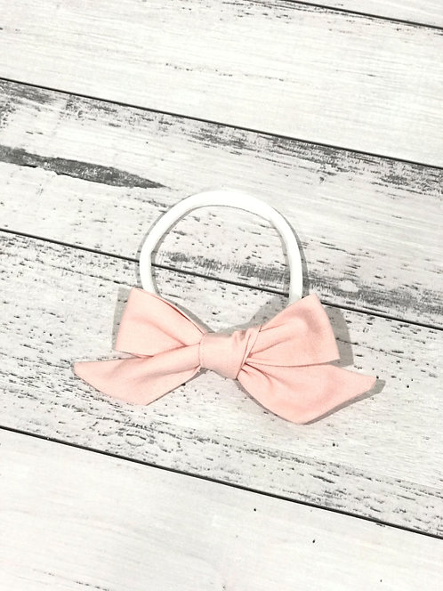 Soft Pink Bow