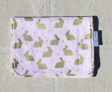 Bunnies - Burp Cloths