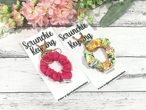 Scrunchie Keyring/Bag Charm