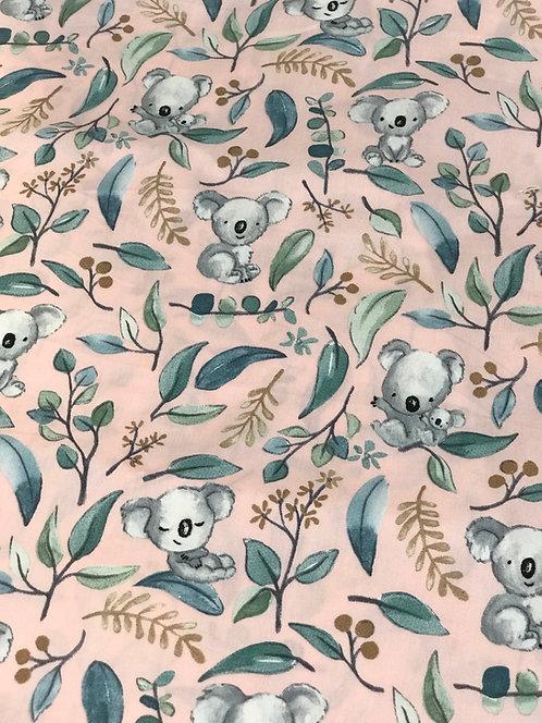 Koalas & Gum Leaves - Dribble Bib