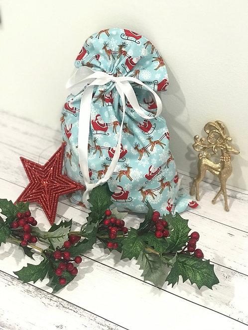 Santas Sleigh Gift Sack