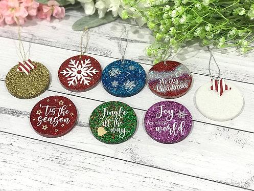 Resin Tree Ornaments