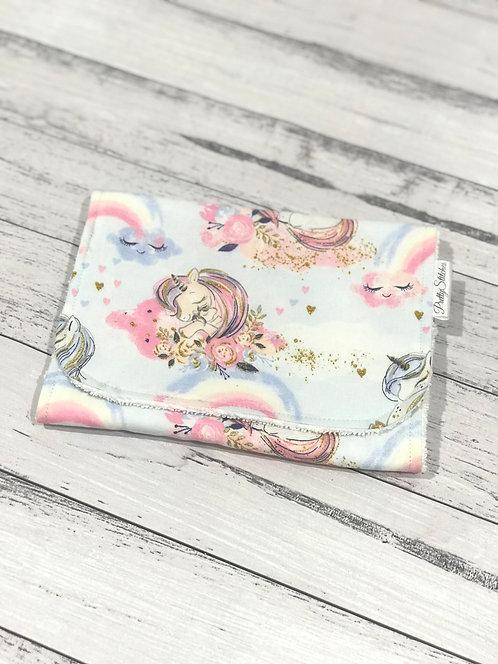 Unicorns - Burp Cloth