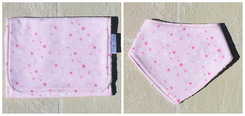 PACKS - Dribble Bib & Burp Cloth