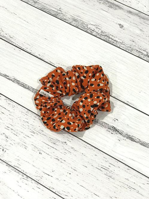 Rayon Orange Spots