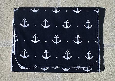 Anchors - Burp Cloth