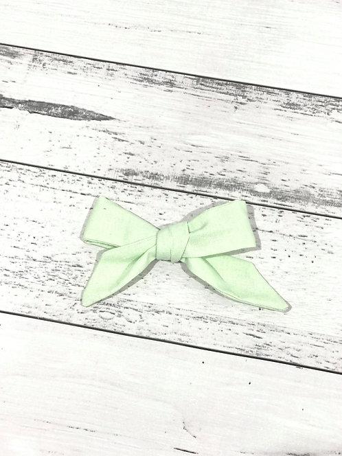 Light Green Bow