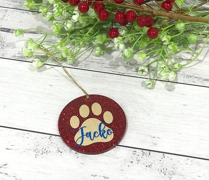 Resin Tree Ornaments - Pet
