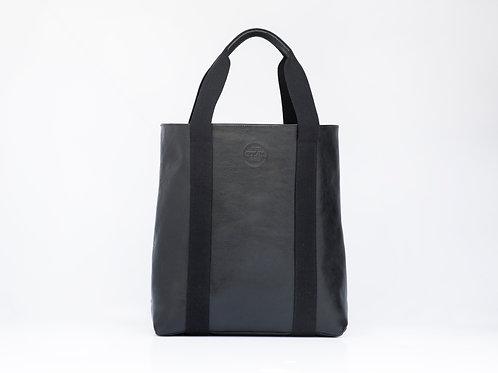Leather Shopper Tote