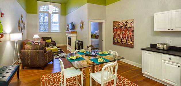 Two-Bedroom Flats - $330