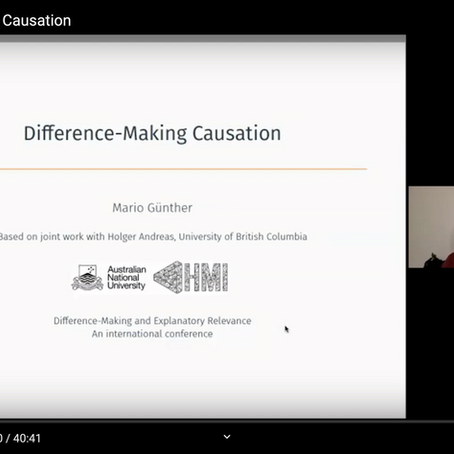Talk on Difference-Making Causation