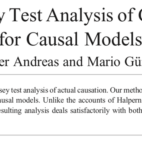 A Ramsey Test Analysis of Actual Causation