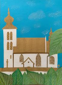Nina a Viktor Mokošoví: Kostol Ducha Svätého v Žehre (zapísaný v zozname Unesco)